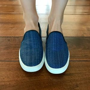 Vince Blair Slip-on Sneaker- Blue Weave